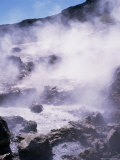 Geothermal Steam Vents  Iceland  Polar Regions