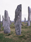 Callanish Standing Stones  Isles of Lewis  Western Isles  Outer Hebrides  Scotland