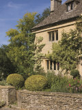 Honey Coloured Stone House  Upper Slaughter  the Cotswolds  Gloucestershire  England