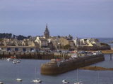 Port and Harbour  Roscoff  Finistere  Brittany  France