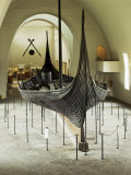 Replica of a Viking Ship  Oseberg  Oslo  Norway  Scandinavia