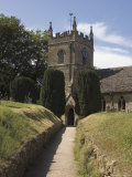 Parish Church  Upper Slaughter  the Cotswolds  Gloucestershire  England  United Kingdom