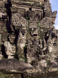 Temple Carvings  Ubud  Bali  Indonesia  Southeast Asia