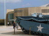 Museum  Where American Forces Landed on D-Day in June 1944 During the Second World War  Normandie