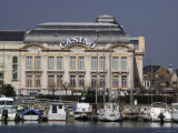 Harbour and Casino  Trouville  Calvados  Normandy  France
