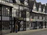 Half Timbered Shakespeare Hostelry  Stratford Upon Avon  Warwickshire  England