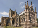 Hereford Cathedral  Hereford  Herefordshire  Midlands  England  United Kingdom