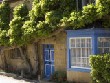 Cottage in the Main Street of the Village  Broadway  the Cotswolds  Gloucestershire  England
