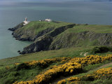 Howth Head Lighthouse  County Dublin  Eire (Republic of Ireland)