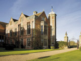 Charlecote Park  a Tudor Mansion  Warwickshire  Midlands  England  United Kingdom