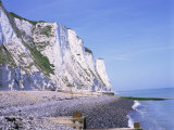 St Margaret's at Cliffe  White Cliffs of Dover  Kent  England  United Kingdom