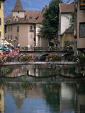 Canal  Medieval Town  Annecy  Haute-Savoie  Rhone-Alpes  France