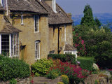 Village Houses  Bourton-On-The-Hill  Cotswolds  Gloucestershire  England  UK