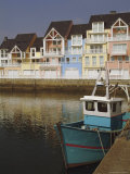 Holiday Flats Overlooking the Port  Deauville  Calvados  Normandy  France
