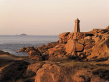 Pars-Kamor Lighthouse  Breton Corniche  Cotes d'Armor  France