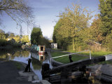 The Junction of the Stratford and Grand Union Canals  Kingswood Junction  Lapworth  Midlands