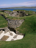 Skara Brae  Orkneys  Scotland  United Kingdom