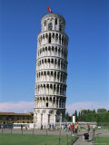 Leaning Tower  Unesco World Heritage Site  Pisa  Tuscany  Italy
