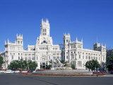 Palacio De Comunicaciones  Plaza De La Cibeles  Madrid  Spain
