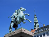 Absalon Monument  Hojbro Plads  Copenhagen  Denmark  Scandinavia