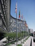 Flags of Eu Member Countries  Brussels  Belgium