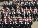 Horse Guards at Trooping the Colour  London  England  United Kingdom