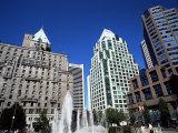 Robson Square  Vancouver  British Columbia  Canada