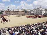 Trooping the Colour  Horseguards Parade  London  England  United Kingdom