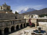 La Merced Church and Monastery  1749 to 1767 AD  Antigua  Unesco World Heritage Site  Guatemala
