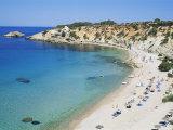 Beach  Cala d'Hort  Ibiza  Balearic Islands  Spain  Mediterranean