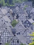 Old Town  Freudenberg  Siegerland  North Rhine-Westphalia (Nordrhein-Westfalen)  Germany