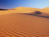 Sand Dune of the Erg Chebbi  Sahara Desert Near Merzouga  Morocco  North Africa  Africa