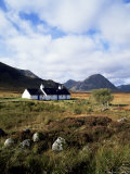 Landscape Near Glencoe  Highland Region  Scotland  United Kingdom