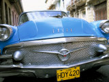 Buick  Old American Car  Havana  Cuba  West Indies  Central America