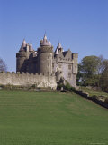 Killyleagh Castle Dating from the 17th Century  County Down  Northern Ireland