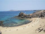 Playa De Papagayo  Lanzarote  Canary Islands  Spain  Atlantic