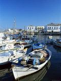 The Dapia  Island of Spetse  Greece