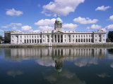 Customs House and River Liffey  Dublin  Eire (Republic of Ireland)