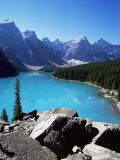 Moraine Lake  Valley of the Ten Peaks  Banff National Park  Rocky Mountains