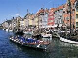 Nyhavn  Copenhagen  Denmark  Scandinavia