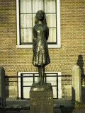 Statue of Anne Frank  Amsterdam