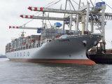Shipping  Port  Hamburg  Germany