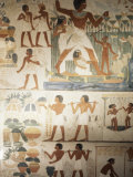 Paintings of Scenes of Everday Life in the Tomb of Nakht