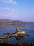 Eilean Donan Castle and Loch Duich  Highland Region  Scotland  United Kingdom