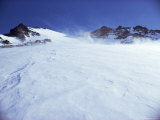 Wind Blowing Snow  Greenland  Polar Regions