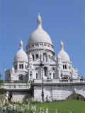 Basilique Du Sacre Coeur  Montmartre  Paris  France