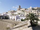 Dalt Vila  Eivissa  Ibiza  Balearic Islands  Spain  Mediterranean