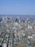 View from Observatory on the 110th Floor of the World Trade Center  New York City  USA