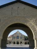 Memorial Church in Main Quadrangle  Stanford University  Founded 1891  California