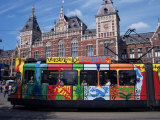 Central Station and Tram Terminus  Amsterdam  Holland